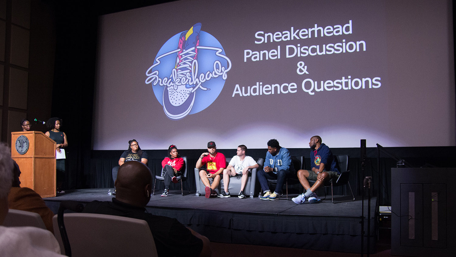 Faculty Fellows Sneakerheads panel discussion