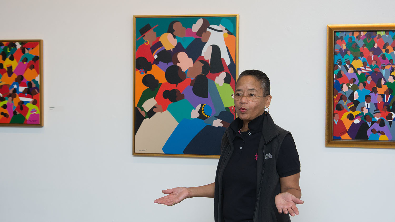 Cynthia Saint James at NC State AACC Gallery