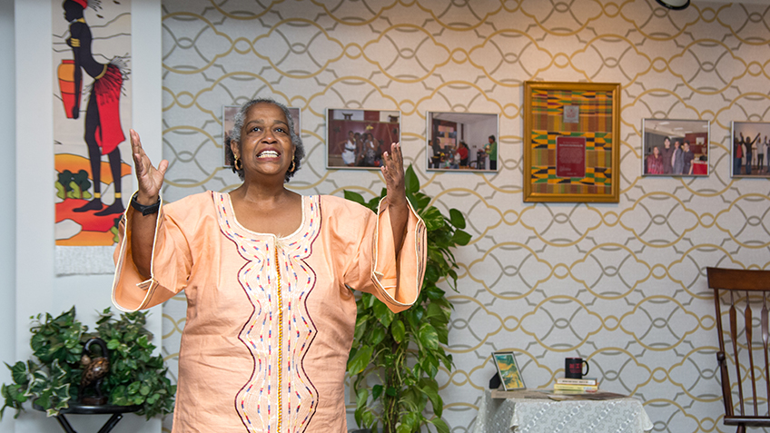 Toni Thorpe tells the Sankofa Story