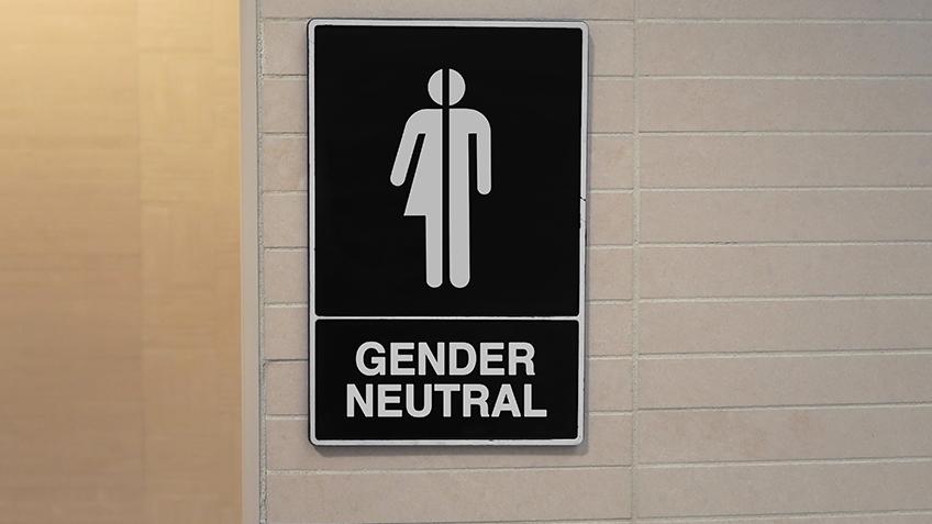 Gender Inclusive Restroom Sign