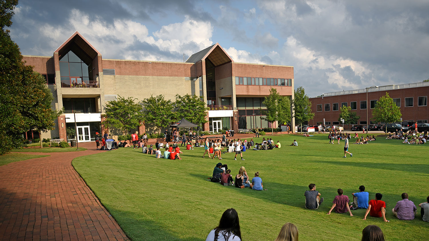 Harris Field and Witherspoon Student Center