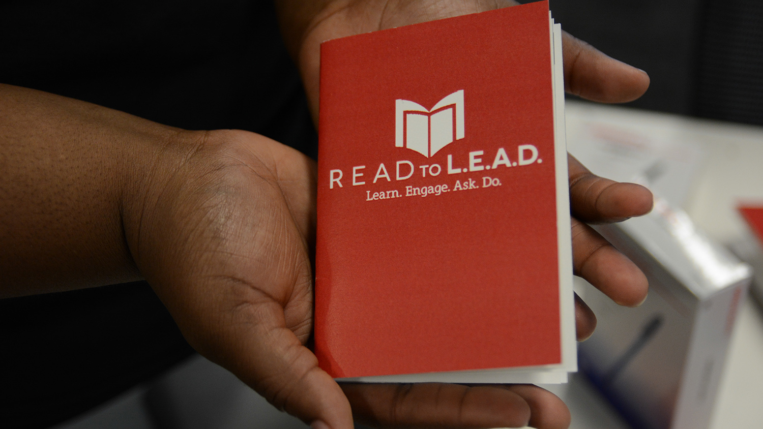 Read to Lead hands