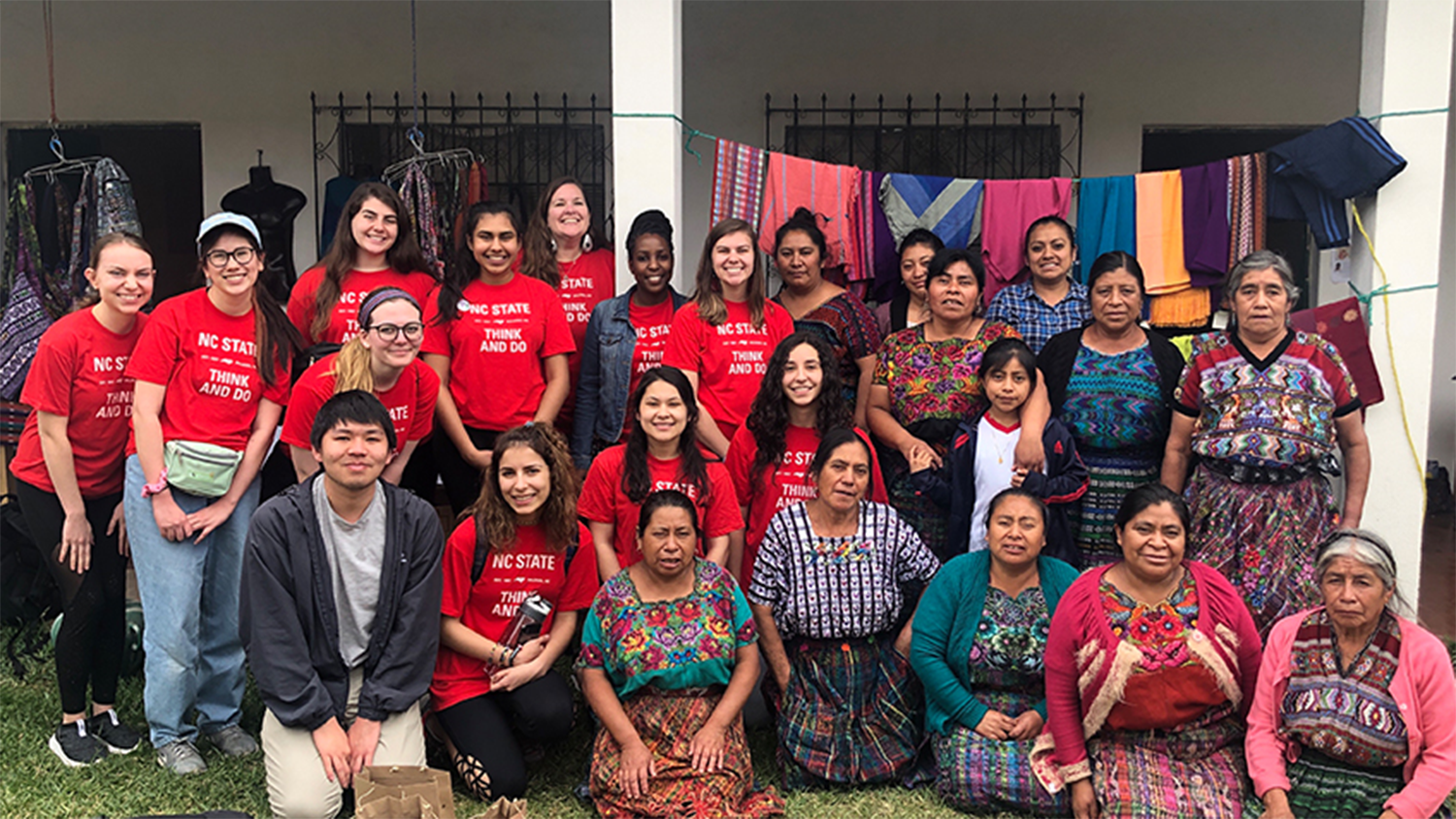 Students on an ASB Trip to Guatemala