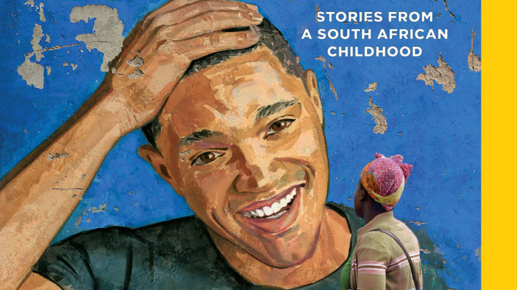 Trevor Noah from his book cover