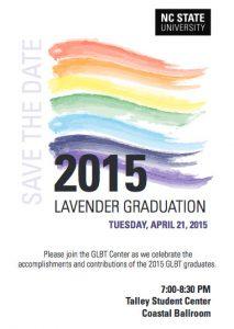 Lavender Graduation 2015