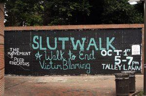 Slutwalk Free Expression Tunnel Painting