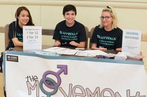 The Movement Table at Slutwalk 2015