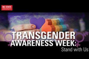 Transgender Awareness Week 2015