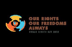 Human Rights Day 2015 logo