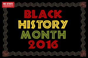 Black History Month 2016 at NC State