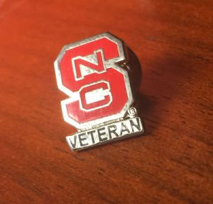 NC State veteran pin