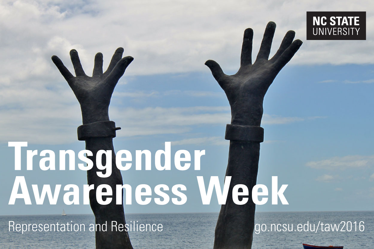 Transgender Awareness Week 2016