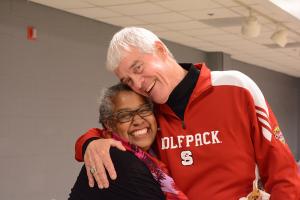 Toni Thorpe with Tom Stafford