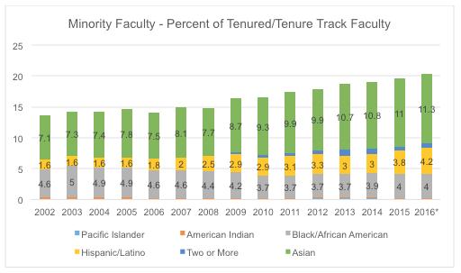 Minority Faculty Detail