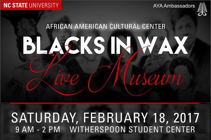 Blacks in Wax Live Museum 2017
