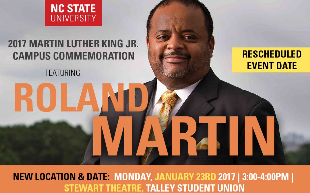 RESCHEDULED! 2017 MLK Campus Commemoration