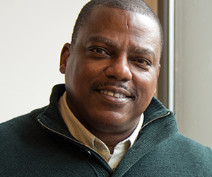 Joe Johnson, Diversity Coordinator in the College of Humanities and Social Sciences