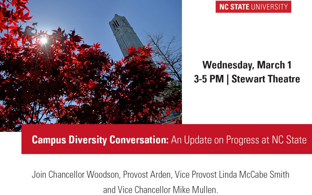 Chancellor, Provost to Join Diversity Conversation