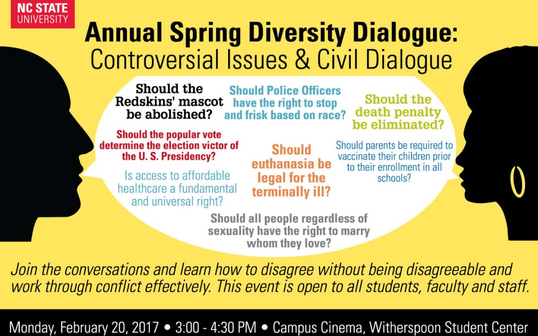 Controversial Issues and Civil Dialogue