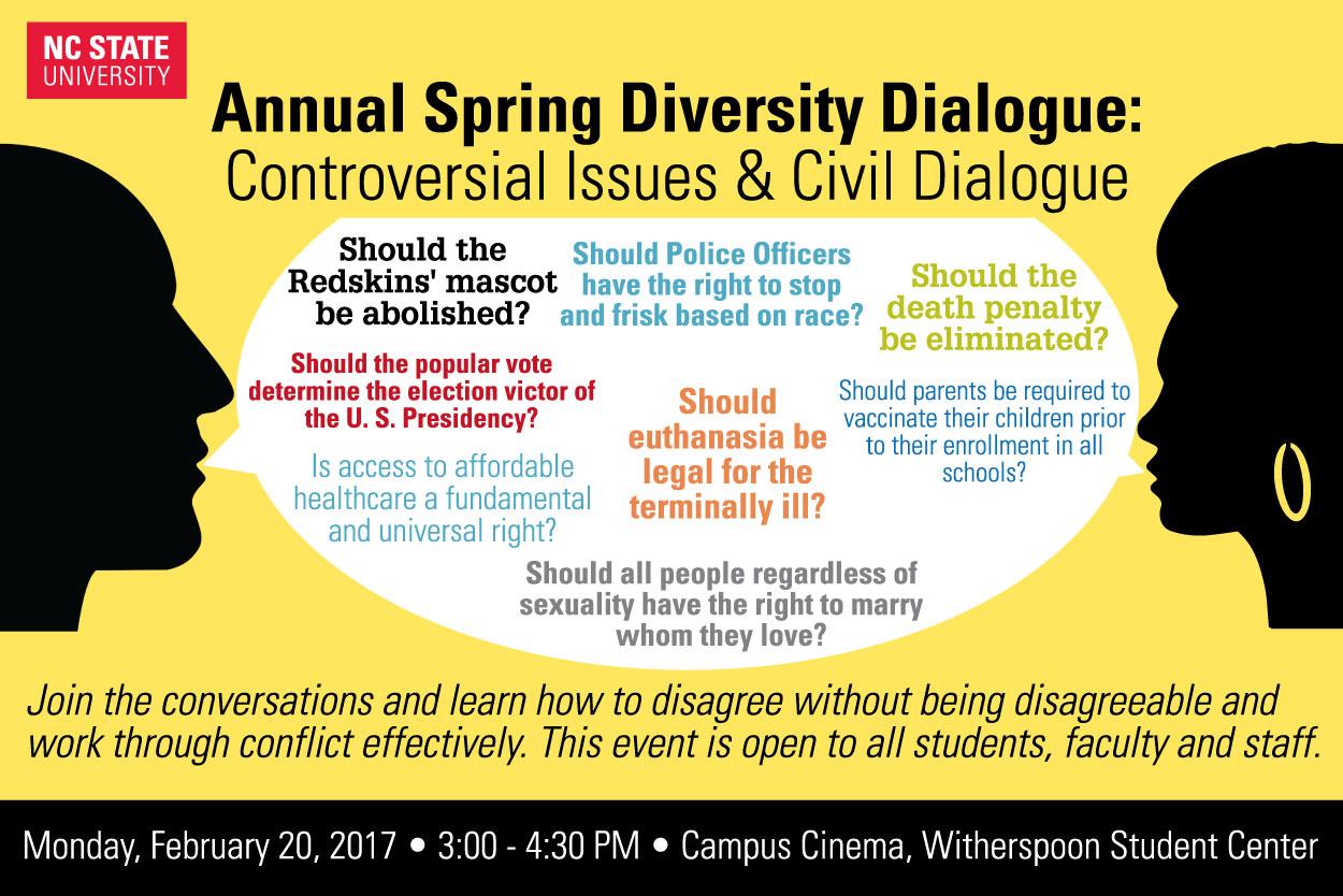 Spring Diversity Dialogue