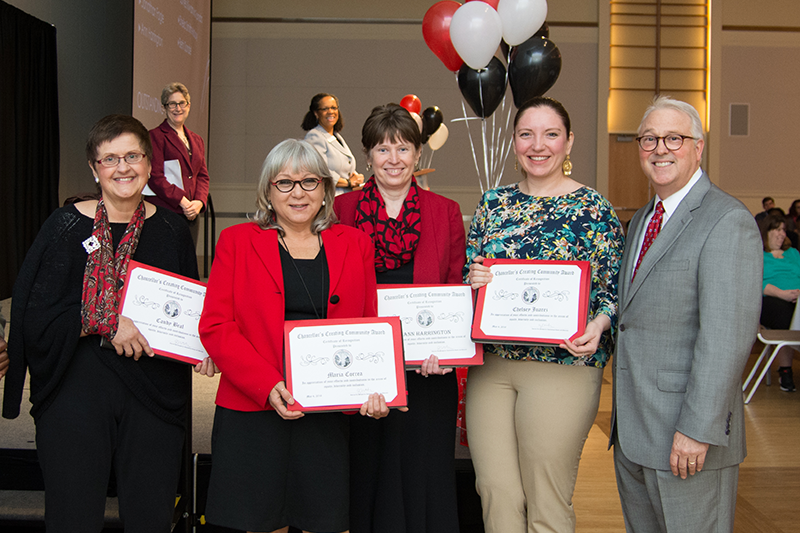Chancellor's Creating Community Awards Now Accepting Nominations