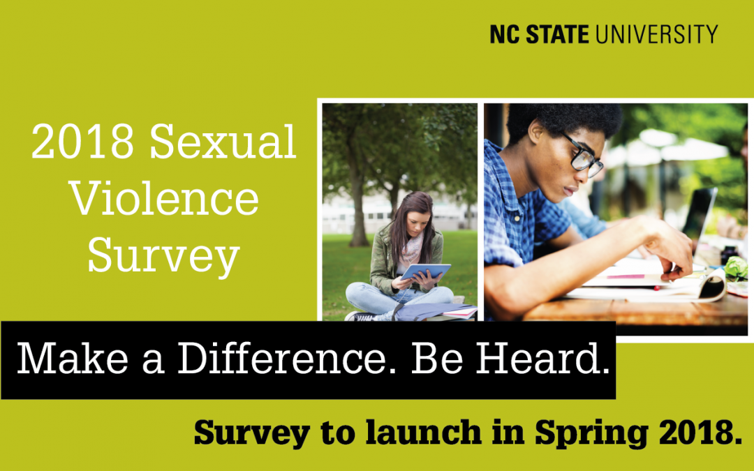 NC State to Survey Students on Sexual Violence