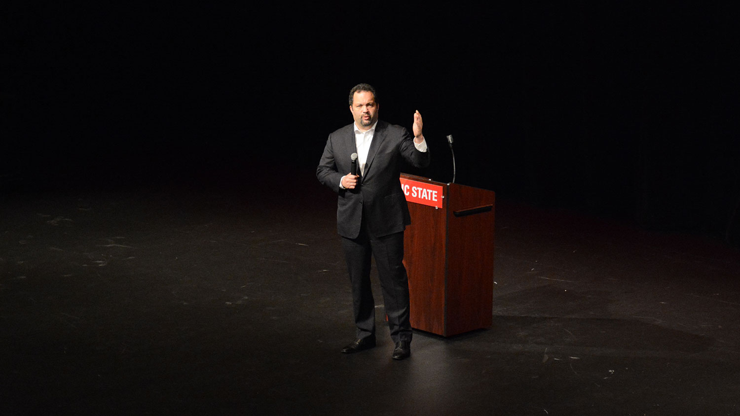 Benjamin Jealous speaks at NC State's MLK Commemoration in 2018
