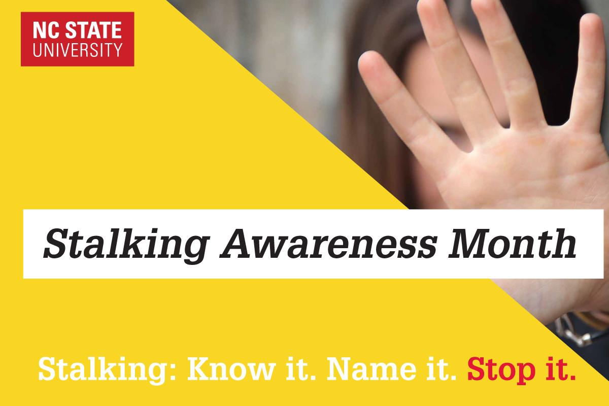 Stalking Awareness Month