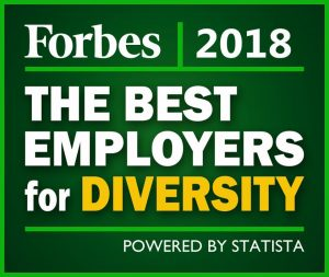 Forbes 2018 Best Employers for Diversity