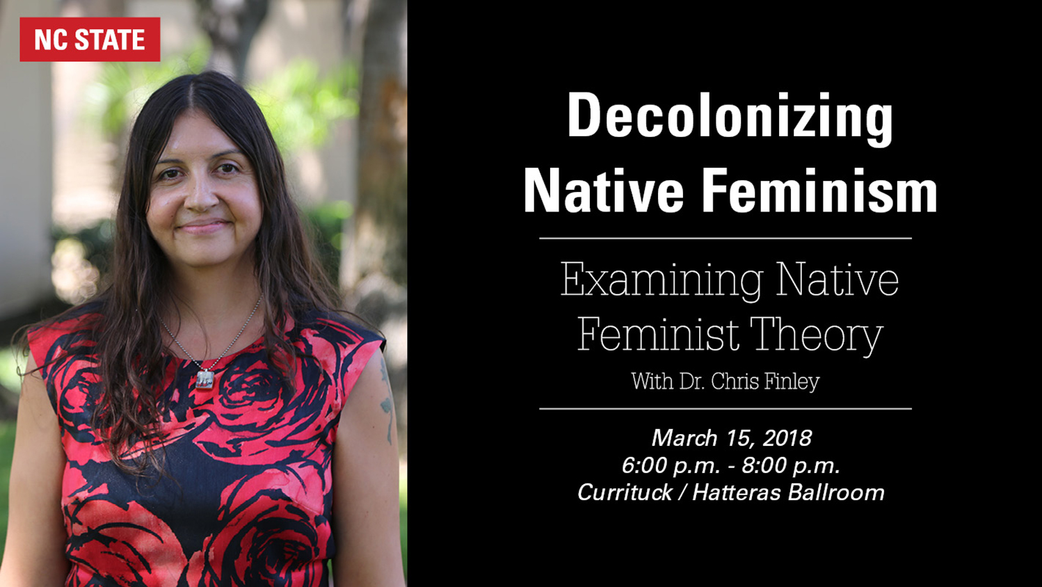 Decolonizing Native Feminism lecture