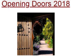 door opening into garden