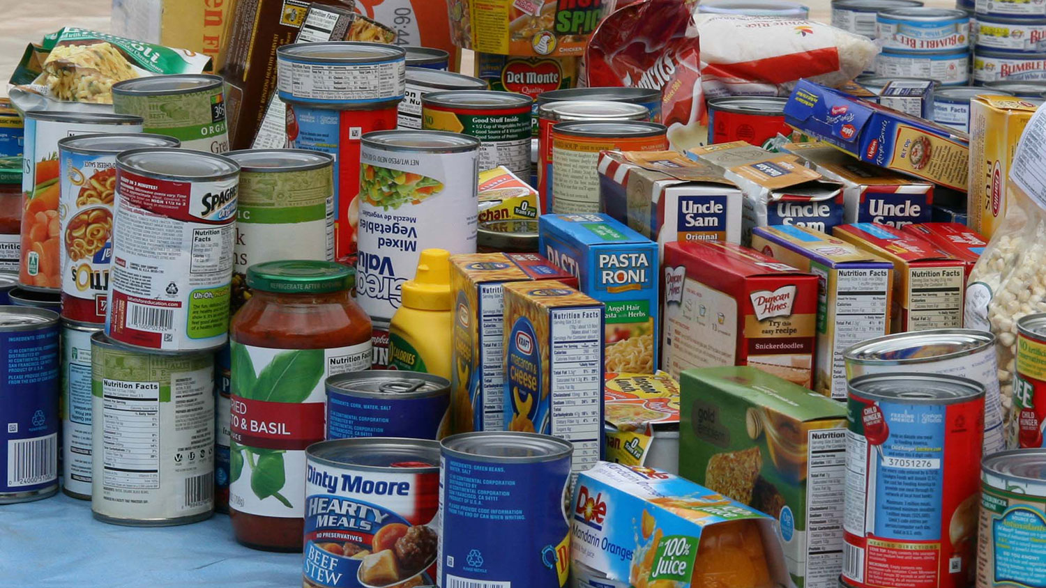 Food pantry items