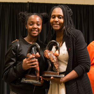 Dr. Tracey Ray and Aaliyah Ray