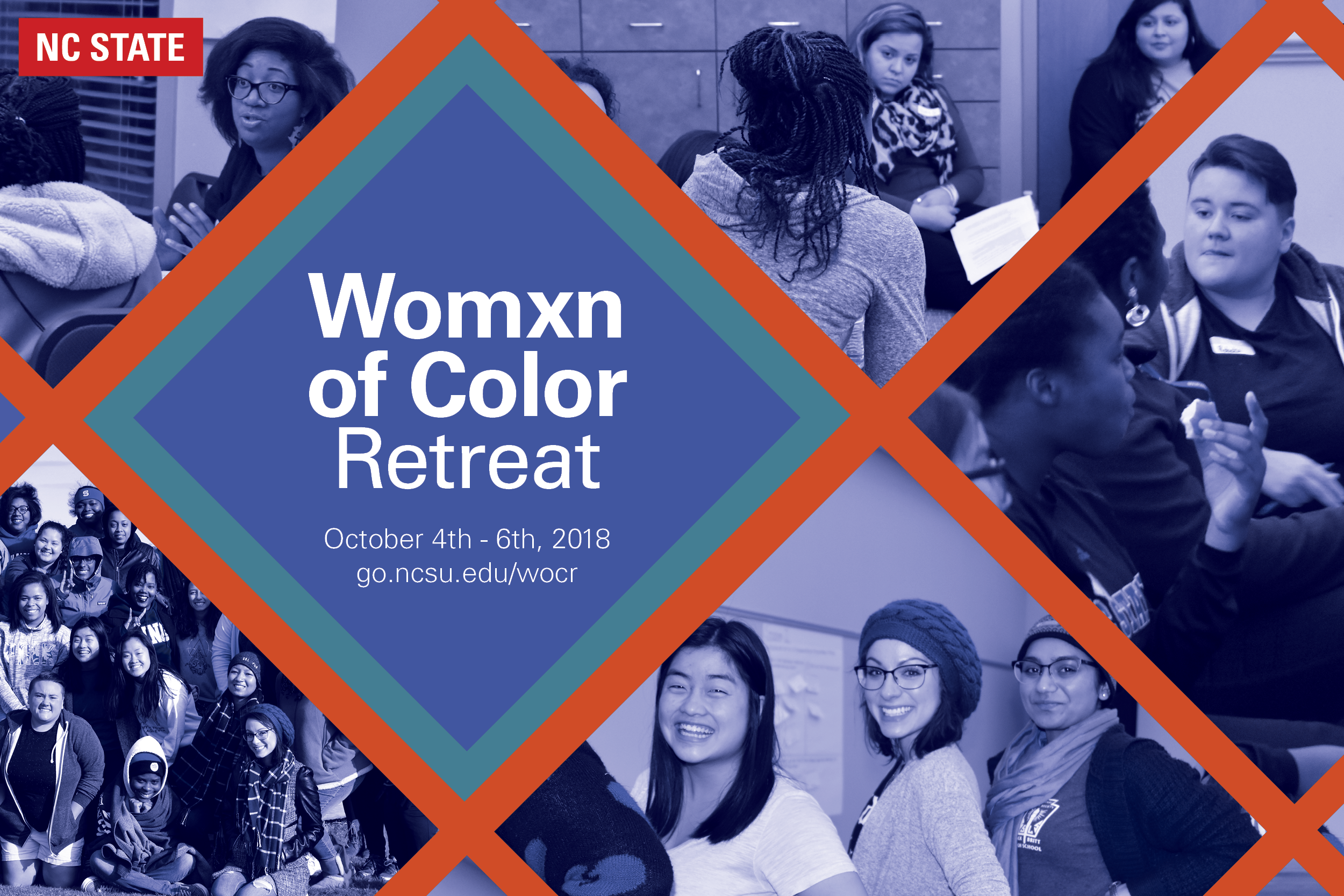 Women of Color Retreat, October 4-6, 2018
