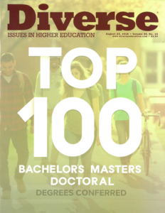 Diverse: Issues in Higher Education Top 100 Degree Producers issue