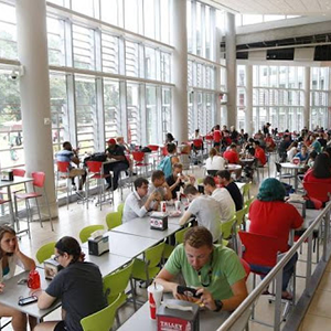 Talley Student Union food court