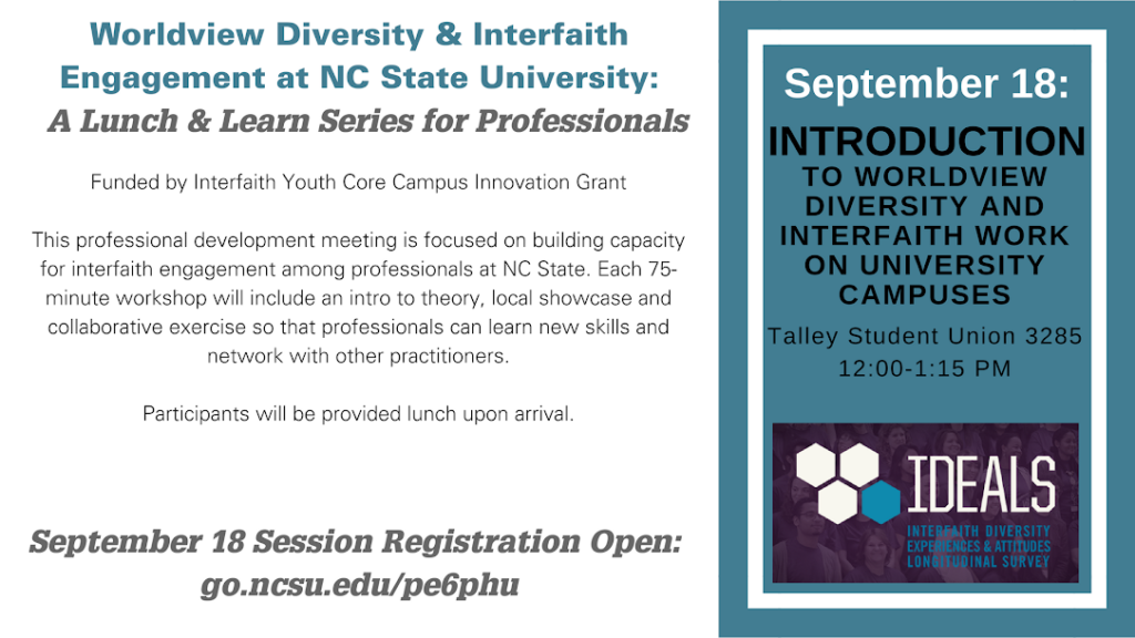 Diversity and Interfaith Lunch and Learn