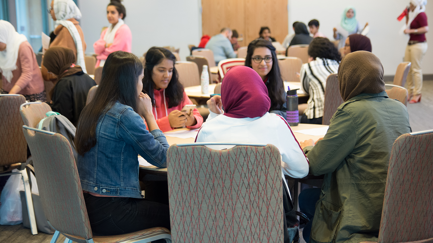 Participants at Diversity Education Week: Muslim Identity
