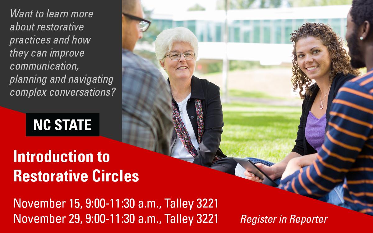 Restorative Circles workshops