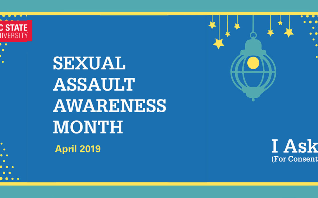 NC State Observes Sexual Assault Awareness Month in April