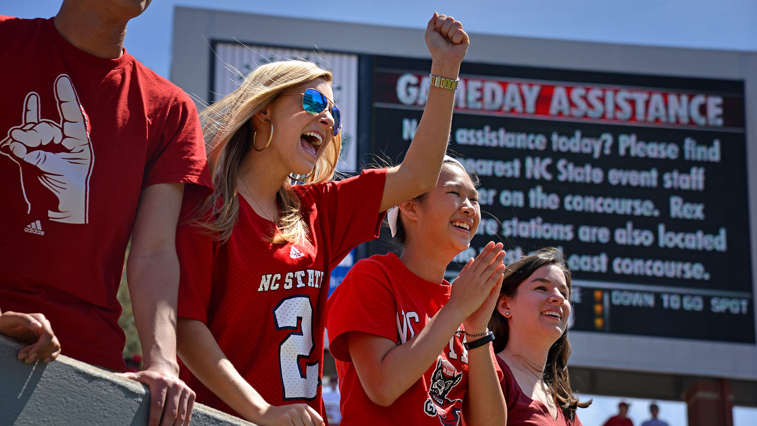 Women NC State athletics fans
