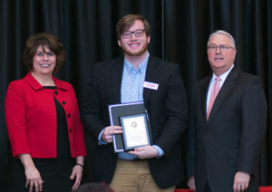 Coleman Simpson of the Oaks Leadership Scholars