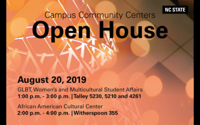 Attend Community Centers Open House