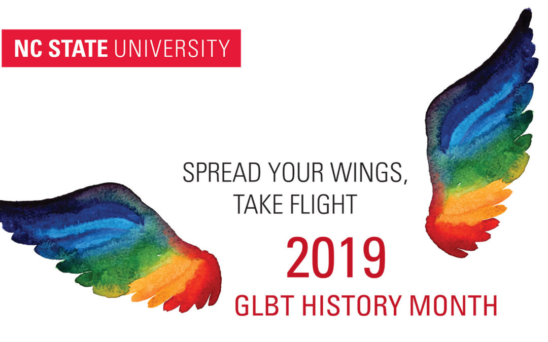 "GLBT History Month 2019: ""Take Flight"""