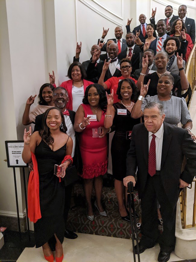 Black Alumni Society 40th anniversary gala program