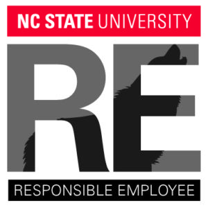 Responsible Employee placard