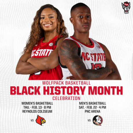 Black History Month at NC State Basketball 2020