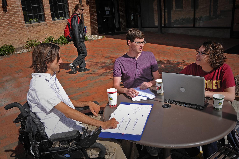 student wheelchair