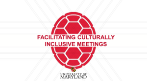 facilitating culturally inclusive meetings cover page