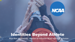 Identities Beyond Athlete slide cover page